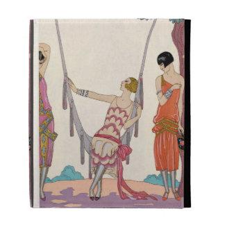 Summer, from 'Gazette du Bon Ton', 1925 iPad Folio Covers