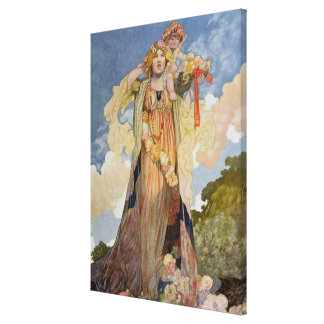 Summer from The Seasons Canvas Print