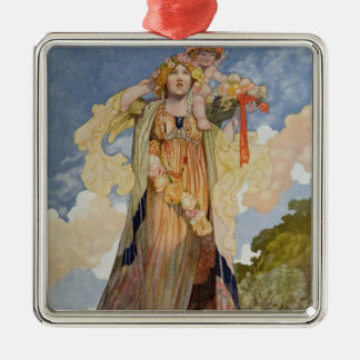 Summer from The Seasons Christmas Ornament