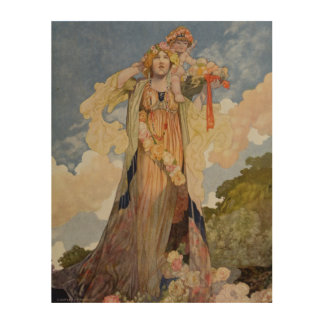 Summer from The Seasons Wood Wall Art