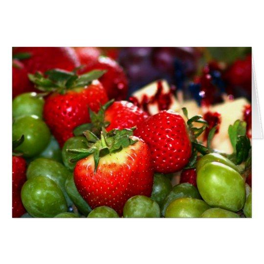 Summer Fruit Card