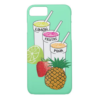 Summer Fruit smoothie iphone case