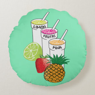 Summer Fruit smoothie pillow