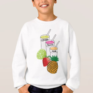 Summer Fruit smoothie Sweatshirt