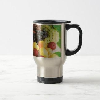 Summer fruit to enjoy stainless steel travel mug