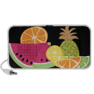 Summer Fruits Doodle Speakers