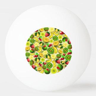 Summer Fruits Juicy Pattern Ping Pong Ball