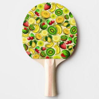 Summer Fruits Juicy Pattern Ping Pong Paddle
