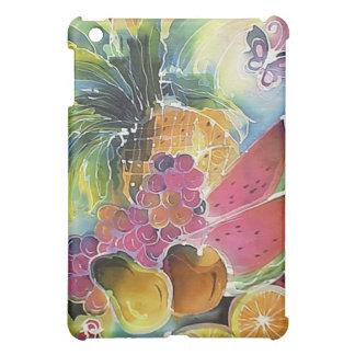 Summer Fruits Silk Art Painting iPad Mini Covers