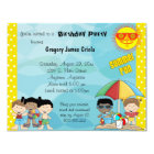 Summer Fun Birthday Invitation
