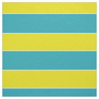 Summer Fun Blue and Yellow Stripe Fabric