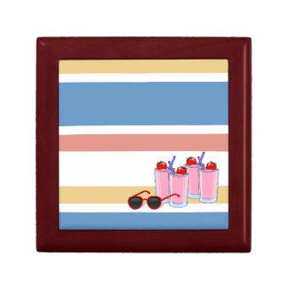 Summer Fun custom gift / jewelry / trinket box