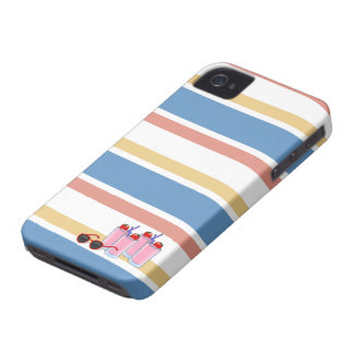 Summer Fun custom iPhone 4 case-mate