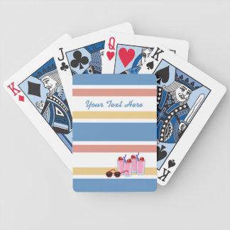Summer Fun custom playing cards