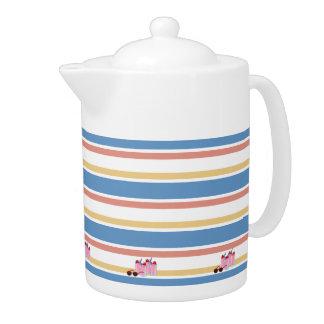 Summer Fun custom teapot
