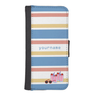 Summer Fun custom wallet cases
