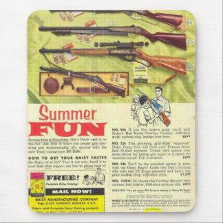 Summer Fun Gun Mouse Mat