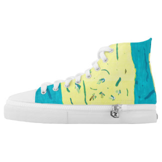 Summer Fun High Tops Printed Shoes