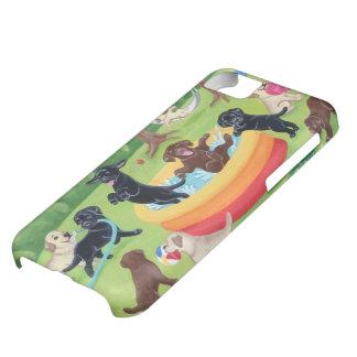 Summer Fun Labradors Painting iPhone 5C Case