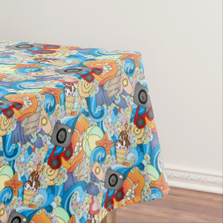 Summer Fun Pattern 2 Tablecloth