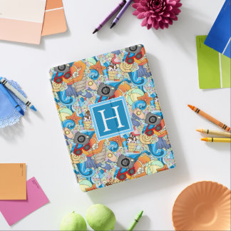 Summer Fun Pattern | Add Your Initial iPad Cover