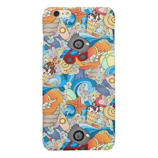 Summer Fun Pattern iPhone 6 Plus Case