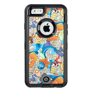 Summer Fun Pattern OtterBox iPhone 6/6s Case
