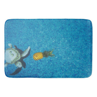 SUMMER FUN PINEAPPLE BATH MAT BATH MATS