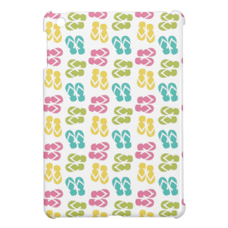 Summer fun pink flip flop sandal pattern cute iPad mini covers