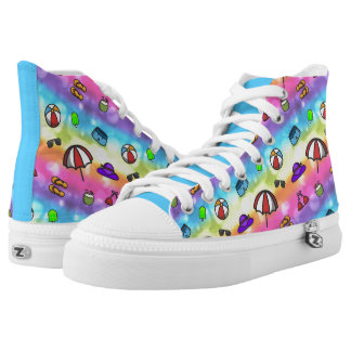 Summer Fun Printed Shoes