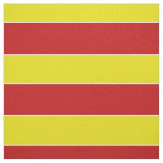 Summer Fun Red and Yellow Stripe Fabric