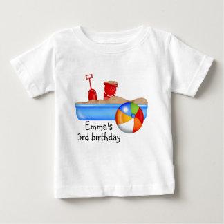Summer Fun Sand box Beach Ball Baby T-Shirt