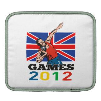 Summer Games 2012 Shot Put Throw iPad Sleeve