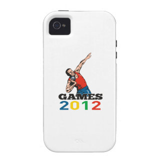 Summer Games 2012 Shot Put Throw iPhone 4/4S Cover