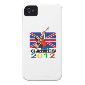 Summer Games 2012 Shot Put Throw iPhone 4 Case-Mate Cases