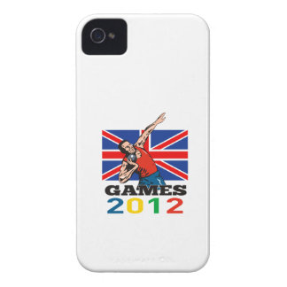 Summer Games 2012 Shot Put Throw iPhone 4 Cover
