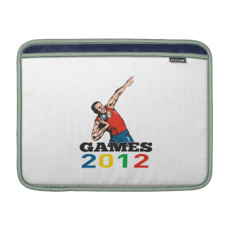 Summer Games 2012 Shot Put Throw MacBook Sleeve