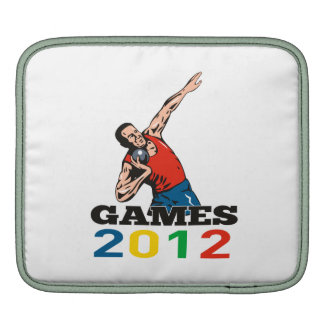 Summer Games 2012 Shot Put Throw Sleeves For iPads