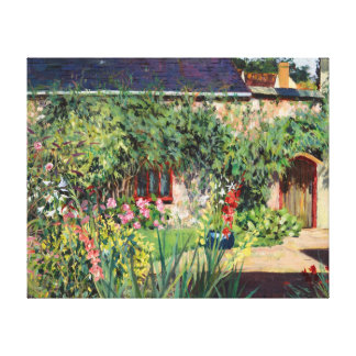 Summer Garden 2009 Canvas Print