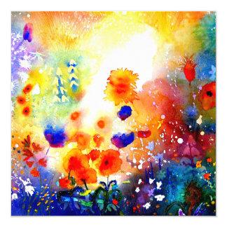 Summer Garden. Card