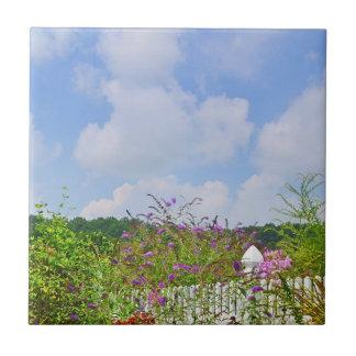 Summer Garden Tile