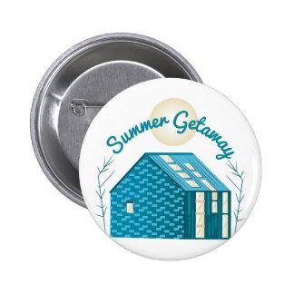 Summer Getaway 6 Cm Round Badge