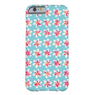 Summer Getaway Flowers Barely There iPhone 6 Case
