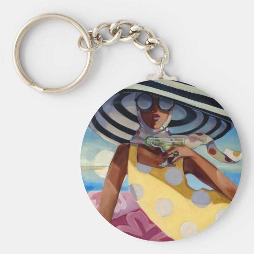 Summer Girl III Keychain