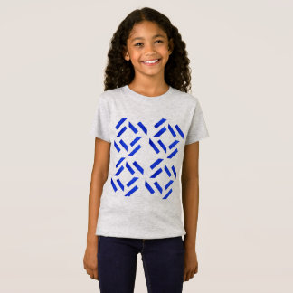 Summer girly t-shirt with Blue print