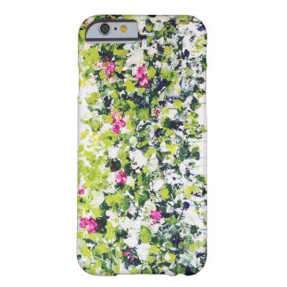Summer Green Floral iPhone Case Barely There iPhone 6 Case
