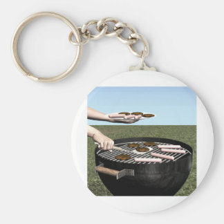 Summer Grilling Key Chains