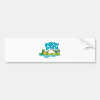Summer Has Arrived Bumper Sticker