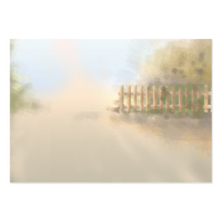 summer haze landscape design pack of chubby business cards