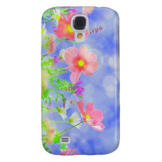 Summer Haze Wild Flowers Sunshine Landscape Galaxy S4 Case